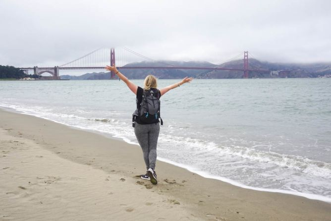 Backpacking SF beach-2