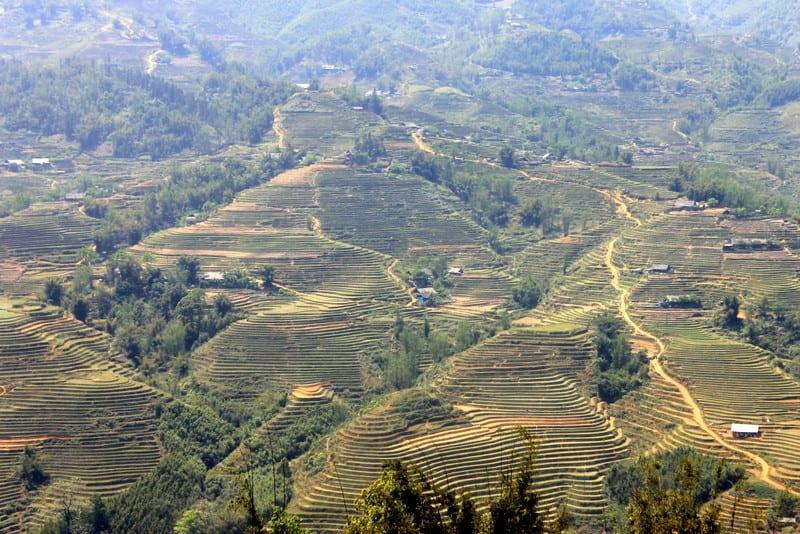 Sapa, Vietnam's beautiful hills and rice paddies