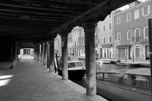 Burano Venice Black and White Photos
