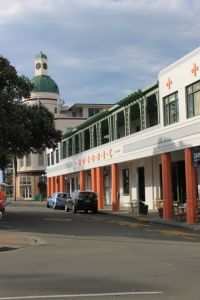 Downtown Napier, New Zealand