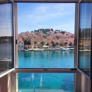 View from Hotel Adriana, Hvar, Croatia