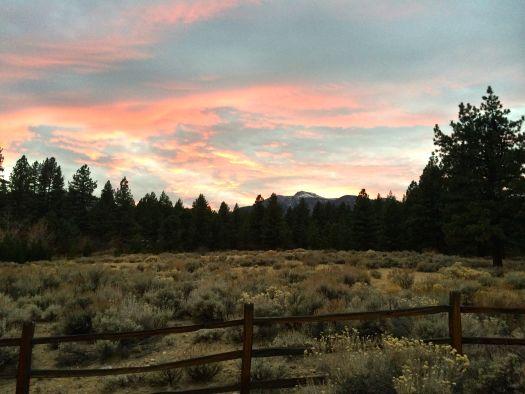 Mount Rose Sunset, Nevada