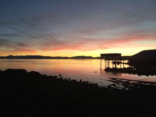 North Lake Tahoe sunset