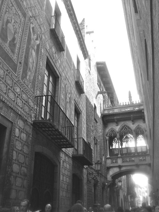Barcelona in Black and White