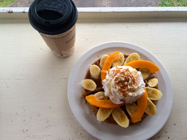 Hanalei Coffee Roasters breakfast