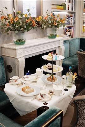 Afternoon tea at Flemings Mayfair