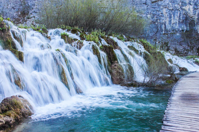 Walking in Plitvice National Park