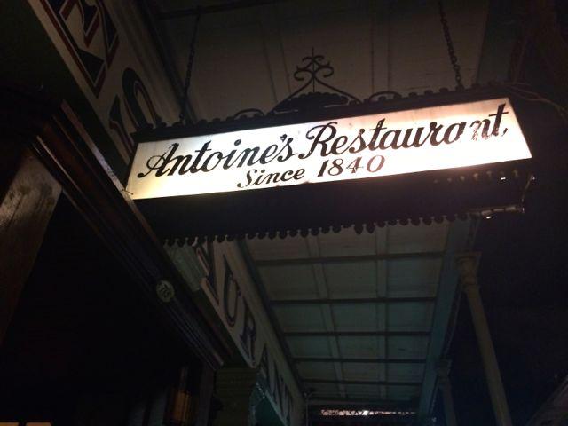 antoine's restaurant new orleans