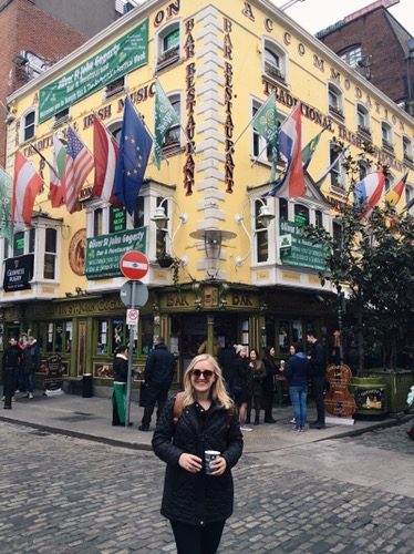 Walking around Temple Bar