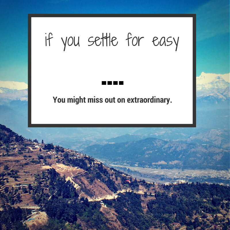 never settle quote