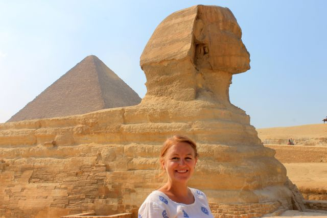 The Pyramids and Sphinx