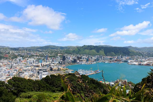 """Windy Welly,"" aka Wellington, New Zealand"