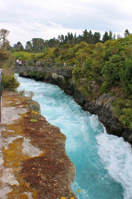 हुका फॉल्स, न्यूजीलैंड