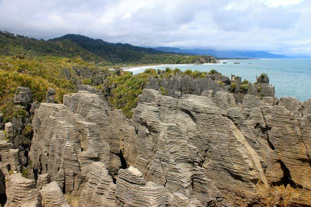 पैनकेक रॉक्स, न्यूजीलैंड