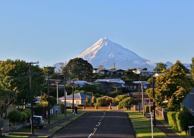 माउंट तारानाकी, न्यूजीलैंड