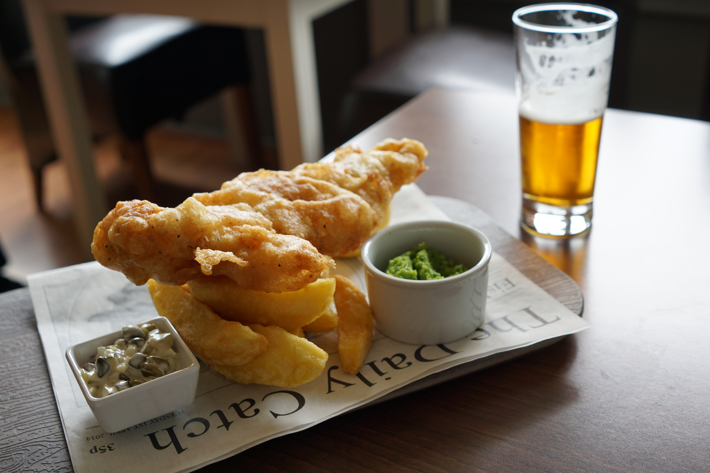 What to eat in Northern England - fish and chips