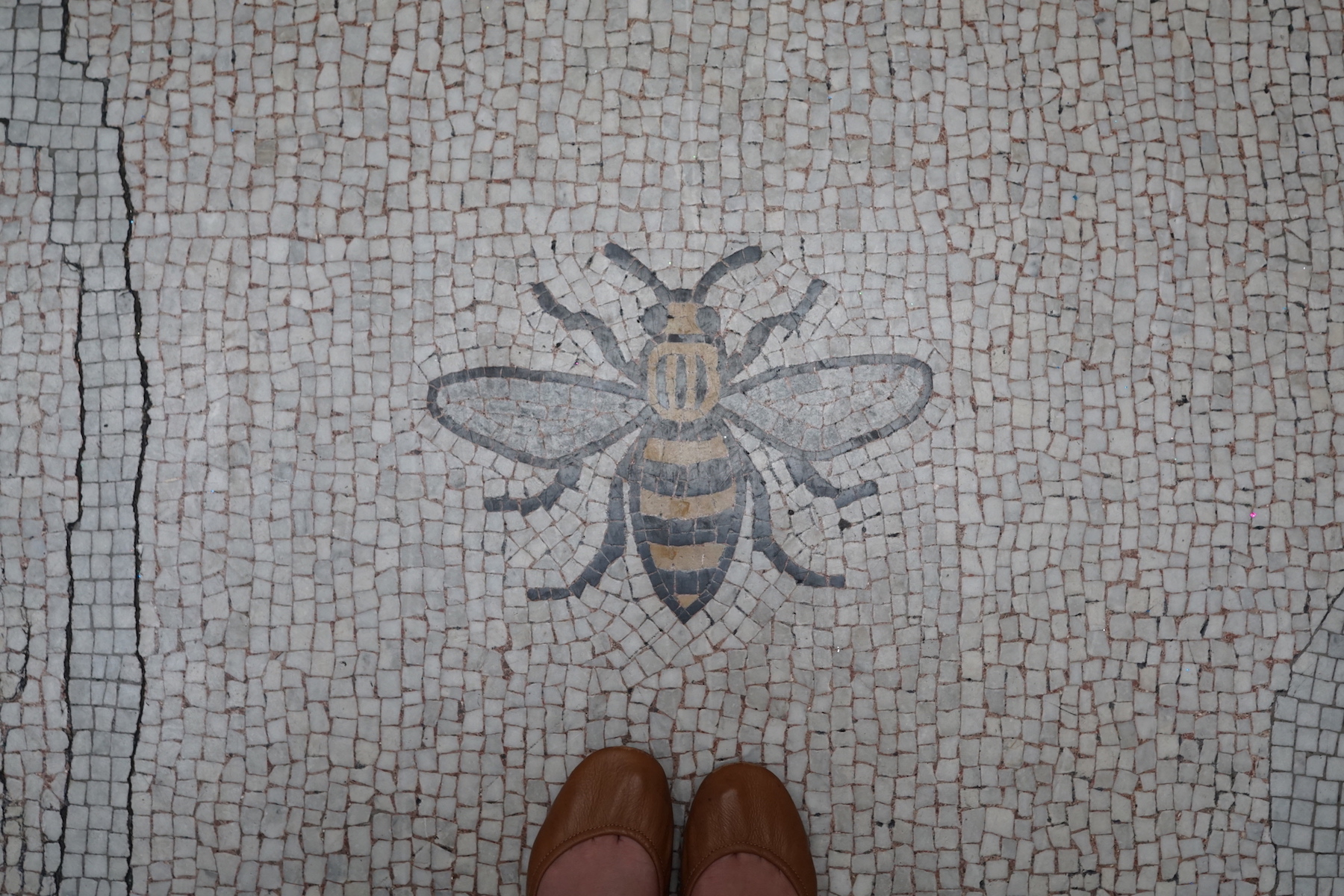 Manchester bee in City Hall