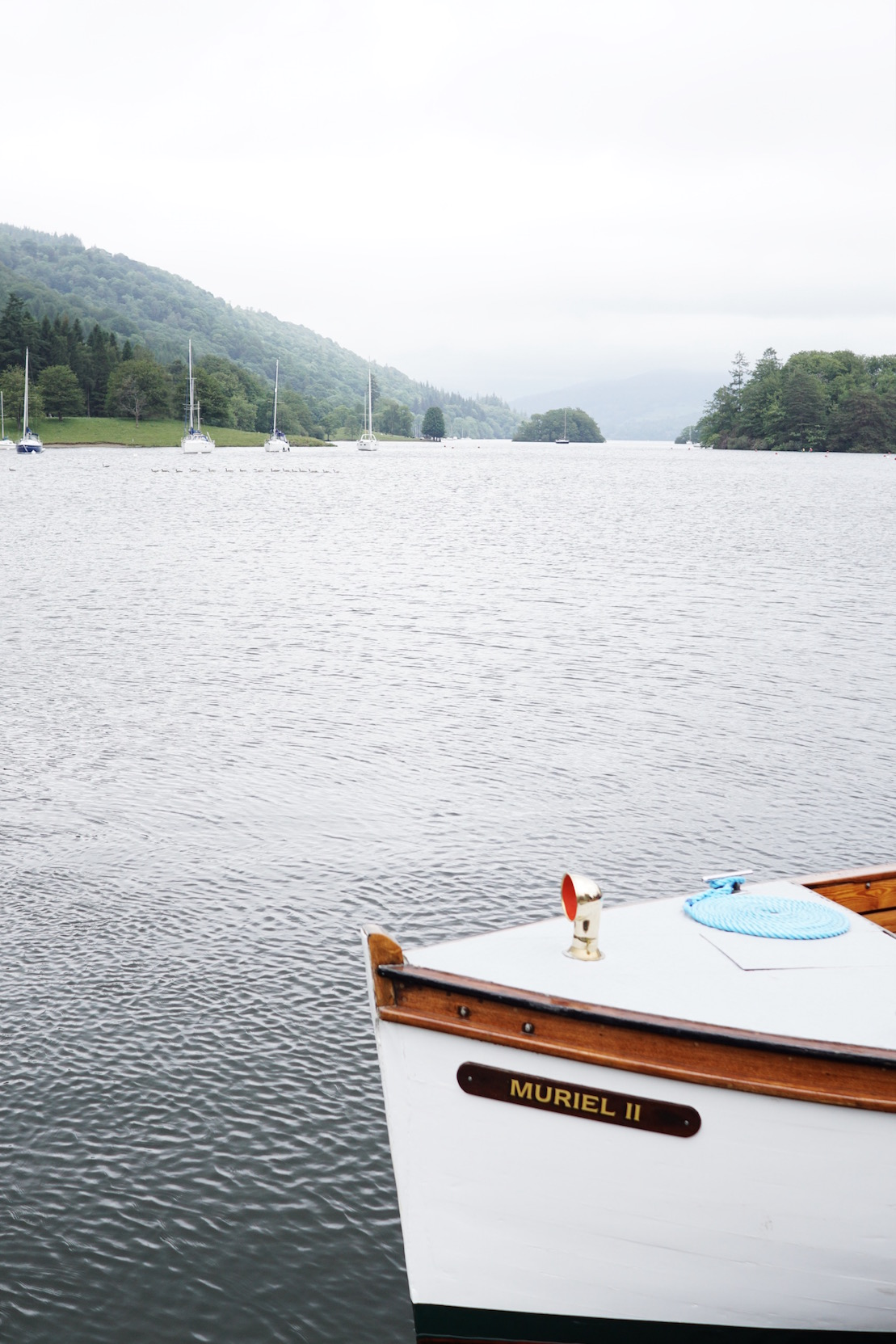 Boating on Lake Windermere