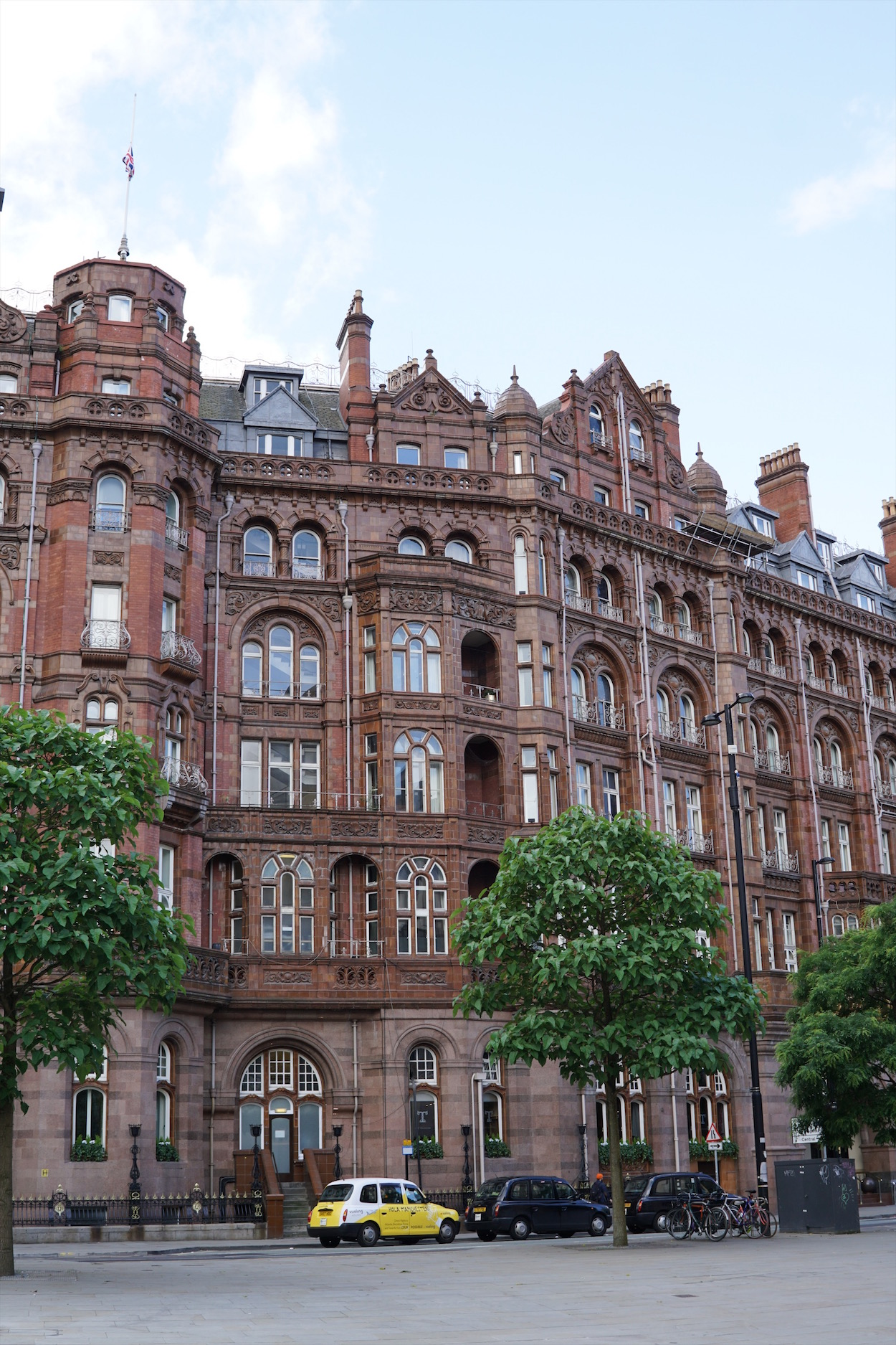 Manchester, England architecture