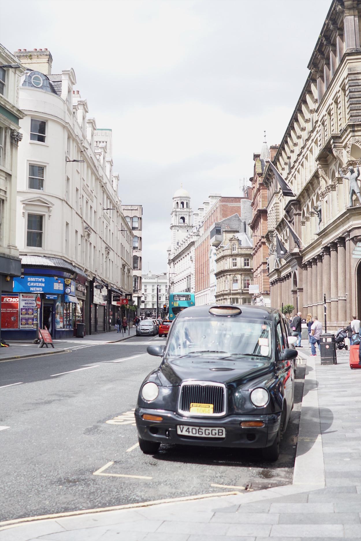 English cab