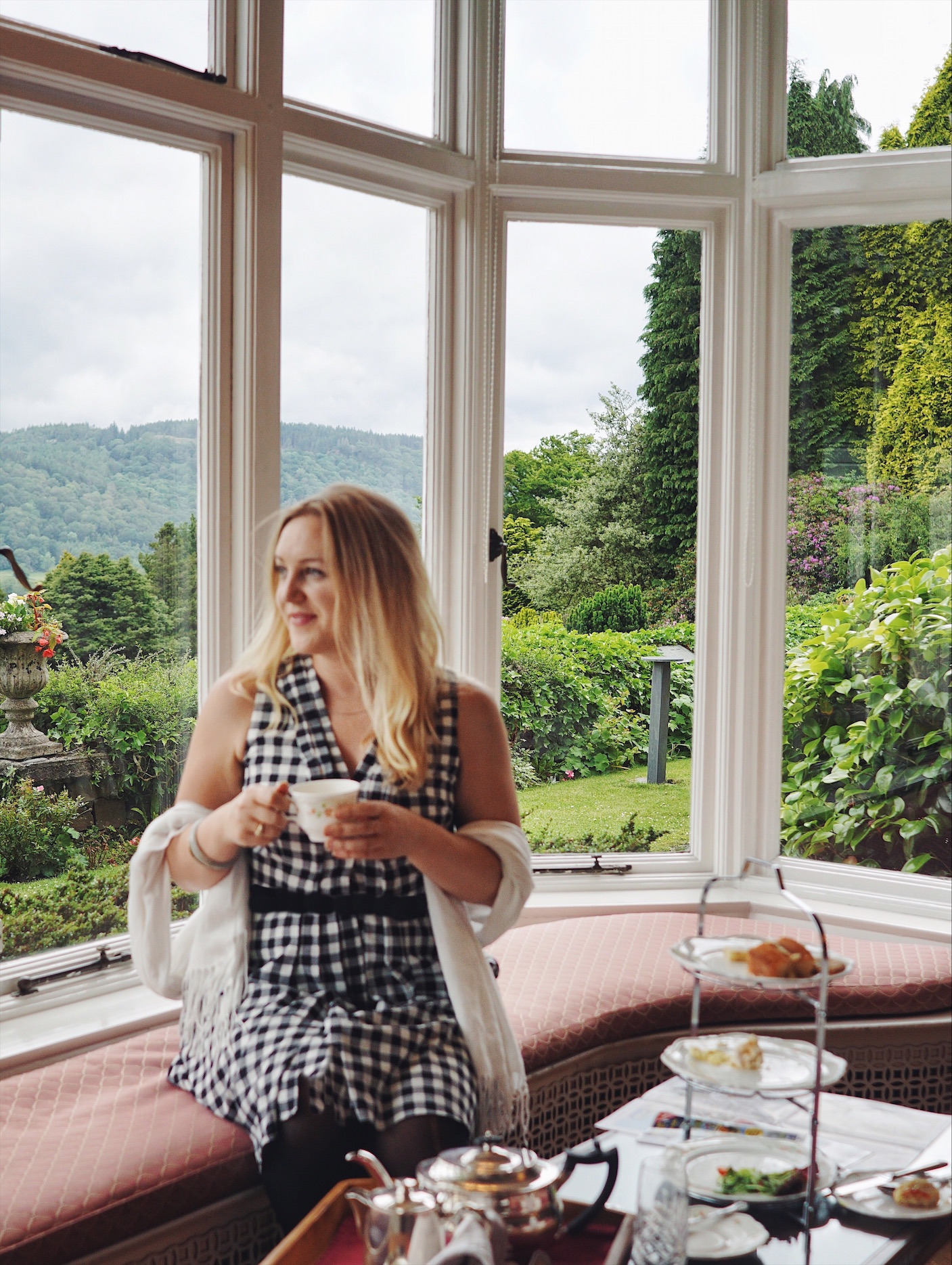 high tea in the lake district