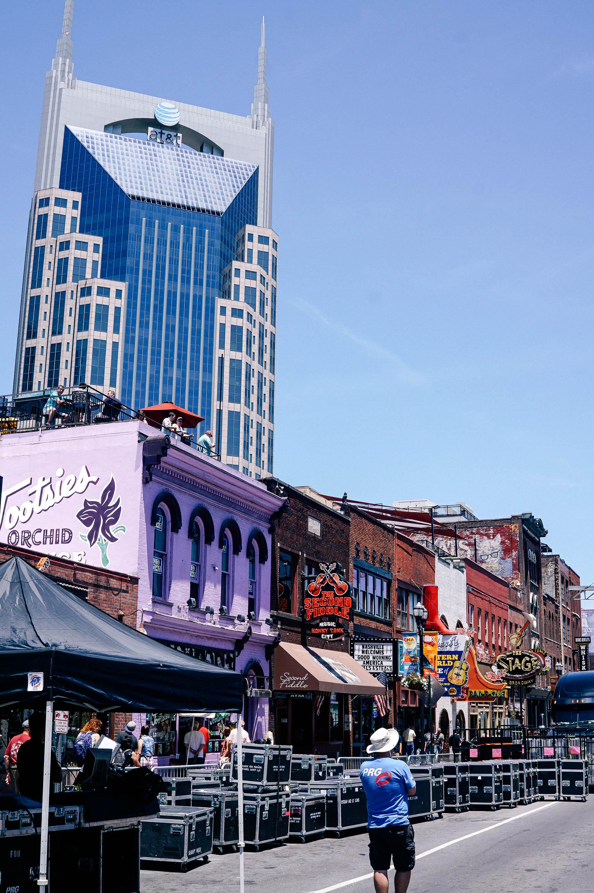Broadway Street Nashville