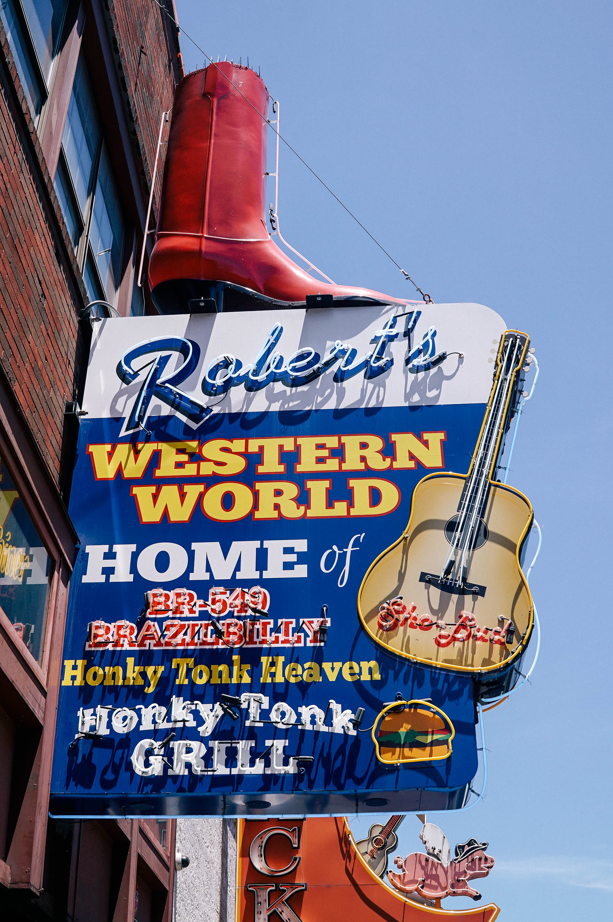 robert's western world honky tonk - Nashville, TN