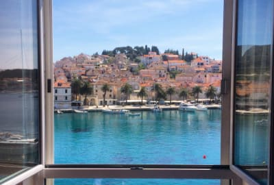 View from Hotel Adriana, Hvar, Croatia