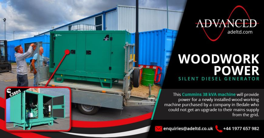 Diesel Generator Acoustic Container