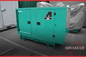 enclosed cummins diesel generator