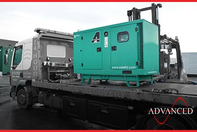 A cummins diesel generator 33kVA on the way