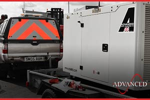 diesel generators heading to Ireland