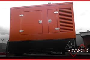 truck mountable diesel generator