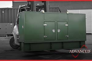 Stainless Paint Diesel generator