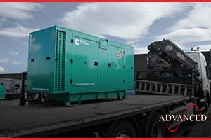 110Kva Cummins enclosed diesel generator