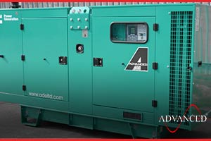 A cummins diesel generator 110kVA on the way