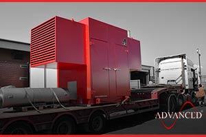 red diesel generator