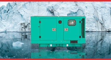 starting a Diesel generator in cold winter ice tempratures
