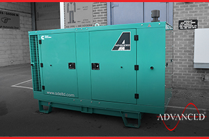 A Cummins Diesel Generator for a warehouse