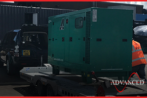 warehouse back up diesel generator