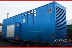 bespoke diesel generator solution for a data centre in Hertfordshire