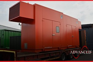 fire pump acoustic enclosure