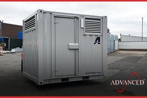 diesel generator secure building