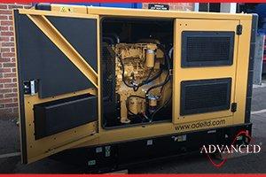88 kVA Caterpillar diesel generator