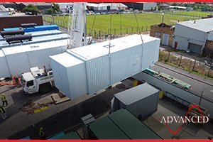 Diesel Generator acoustic enclosure for a UK data centre