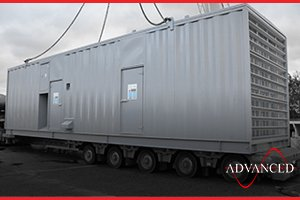 Acoustic Enclosure for a diesel generator