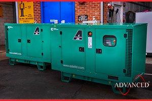 2 Cummins 33kVA Diesel Generators