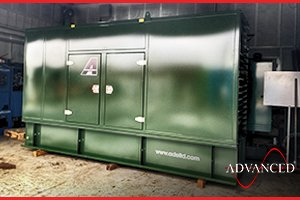 Perkins 88kVA Diesel Generator in Bespoke Enclosure