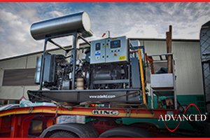 Perkins ADE-PS200 Open Diesel Generator with bespoke telecoms modifications