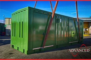 Custom designed & built Switchgear & Boiler Enclosure